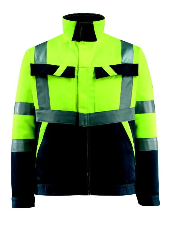 Kõrgnähtav tööjakk Forster kollane/t.sinine XL, Mascot