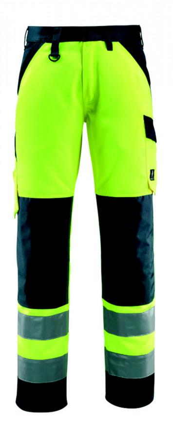 Kelnės Maitland geltona/tamsiai  mėlyna 82C54, Mascot