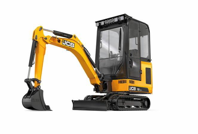Mini excavator  15C, JCB