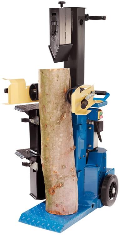 Hüdrauliline vertikaalne puulõhkuja Ox 3-1000, Scheppach