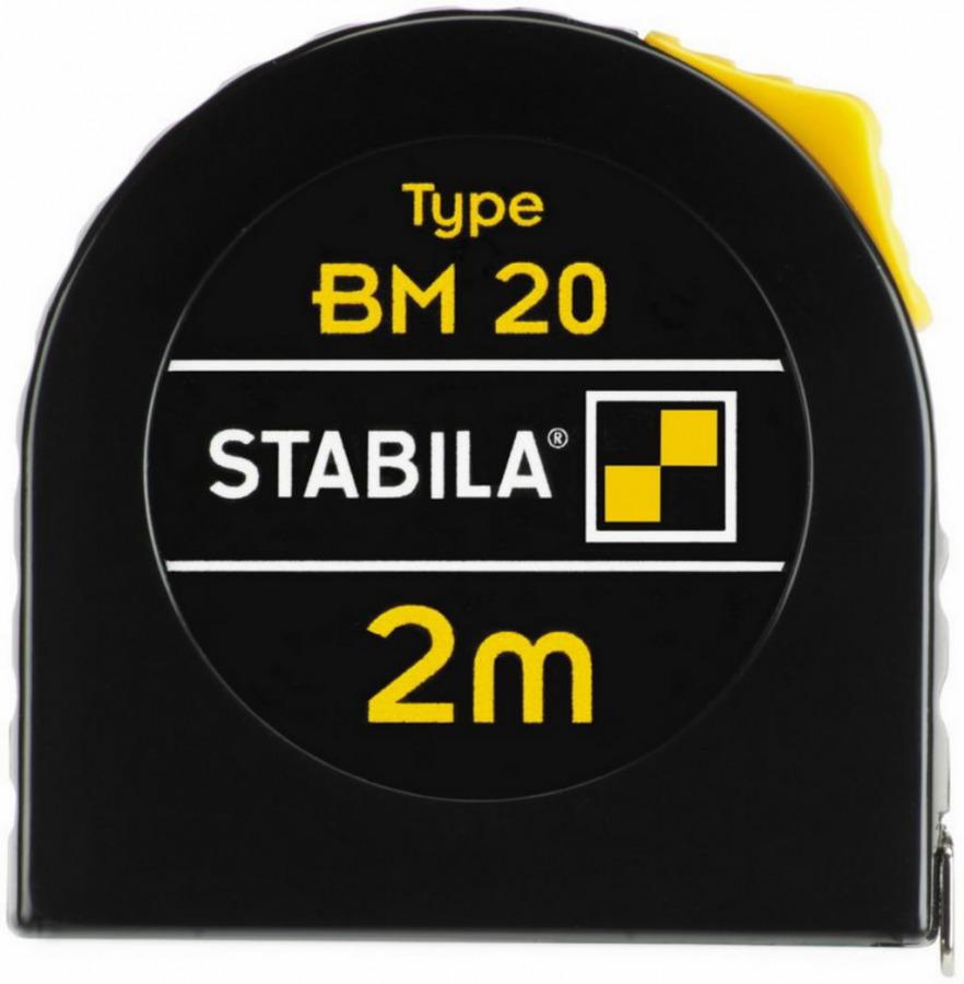 Ruletė BM20 5m 12,5mm, Stabila
