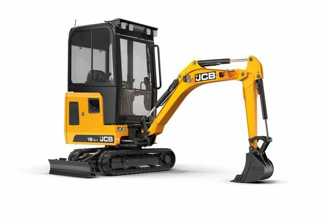 Mini excavator  16C, JCB