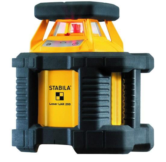 Nivelyras lazerinis rotacinis LAR200 + REC 300, Stabila