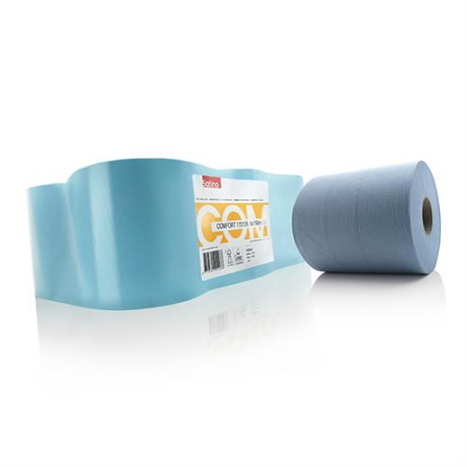 Paberrätik  sinine Comfort 150m, 2-kihiline, Satino