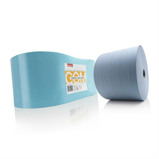 Paberrätik  Comfort, 2-kihiline, sinine, 555m, Satino