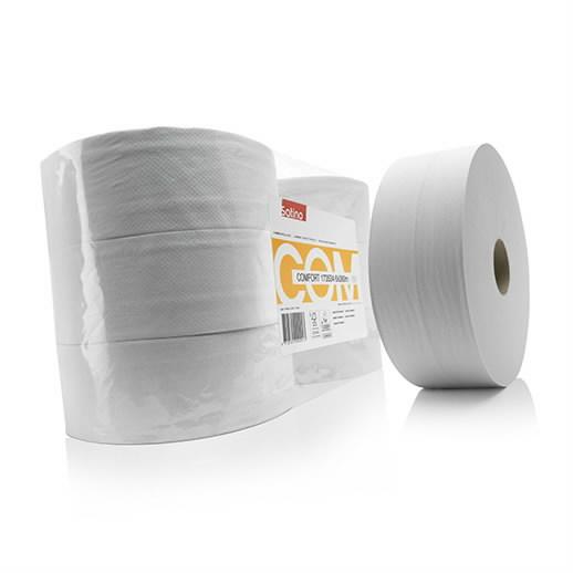 Tualettpaber  Jumbo Comfort, 2-kihiline, 380m., Satino