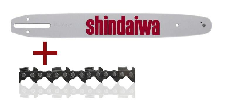 Pjovimo juosta 45 cm ir grandinė .325 1,5 72d, SHINDAIWA