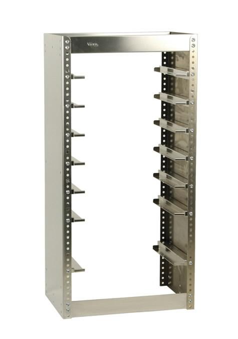 Kaubikuriiul Carryl Lite karpidele 7 riiulit S192, Raaco