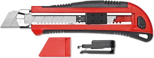 Laužomas peilis 5 geležtės 25 mm 9112.00, Carolus