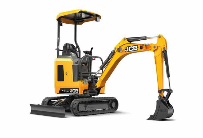 Mini excavator  18Z, JCB