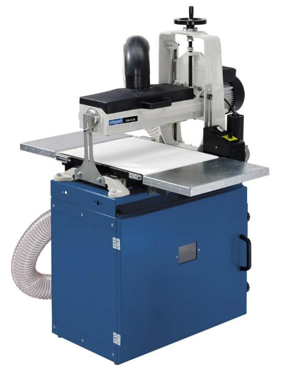 Trummellintlihvmasin Slik 5.0 c / 2.0 kW / 230V, Scheppach