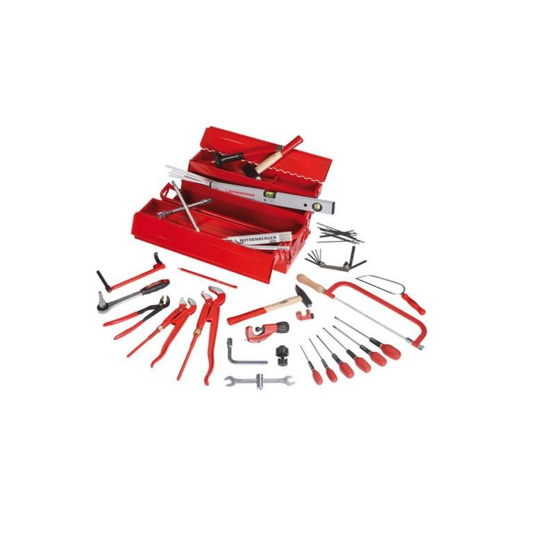 tööriistakast 19166 tööriistadega, Rothenberger