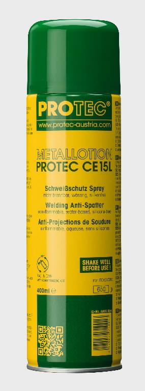 Isepuhastava toimega pritsmekaitse Protec CE 400ml aerosool, Binzel