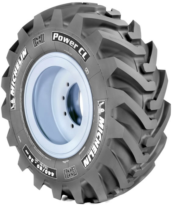 Riepa  POWER CL 19.5L-24 (500/70-24) 164A8, MICHELIN