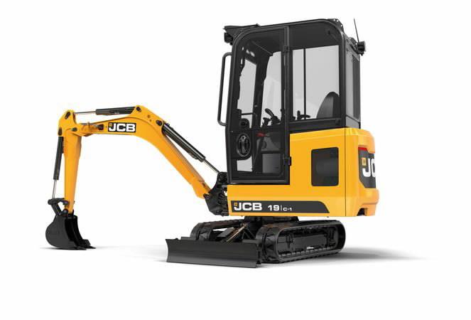 Mini excavator  19C, JCB