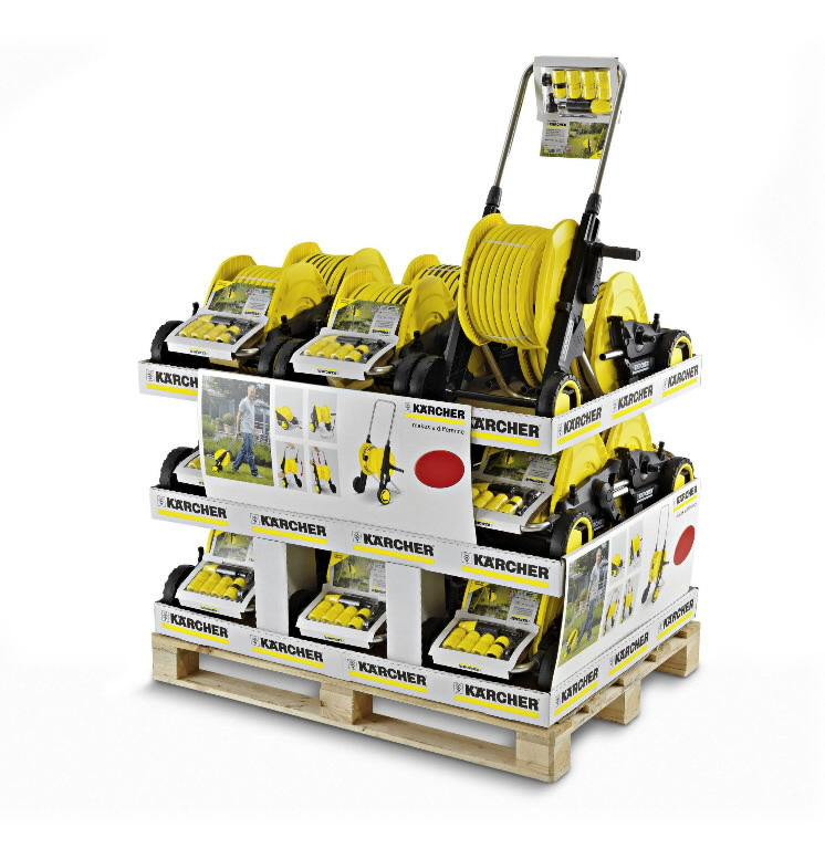 Hose cart HT 3.420 Kit 1/2´´ Pallet, Kärcher