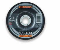 Šlifavimo diskas aliuminiui RS24 125x7, Rhodius