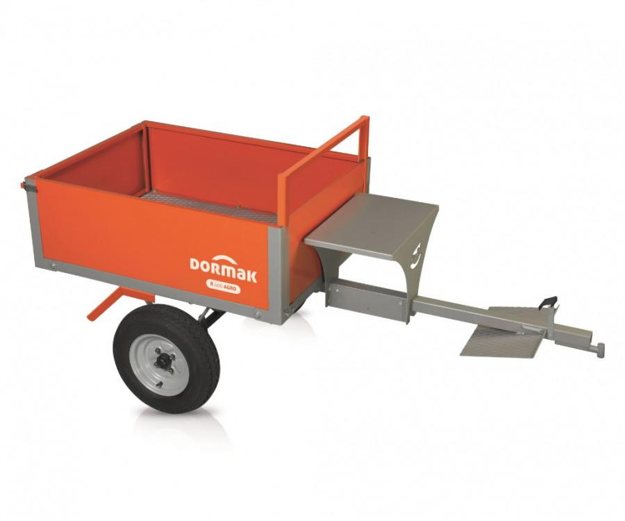Agro priekaba su minkšta sėdyne kultivatoriui TT 50 RR400, Dormak