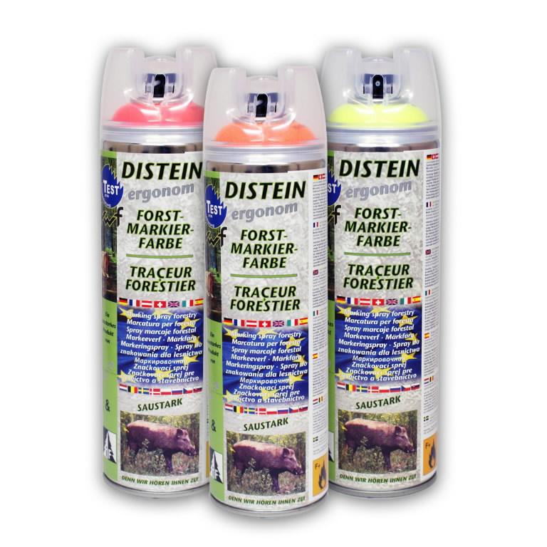 Miško žymėjimo dažai DISTEIN - Neon Yellow 500 ml, Motip