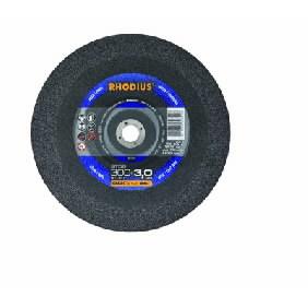 Pjovimo diskas plienui ST56 400x4x40 A24R, RHODIUS