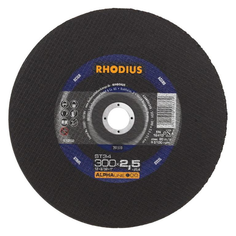 Pjov.disk.metalui ST34 350x3,0x25,4mm, Rhodius
