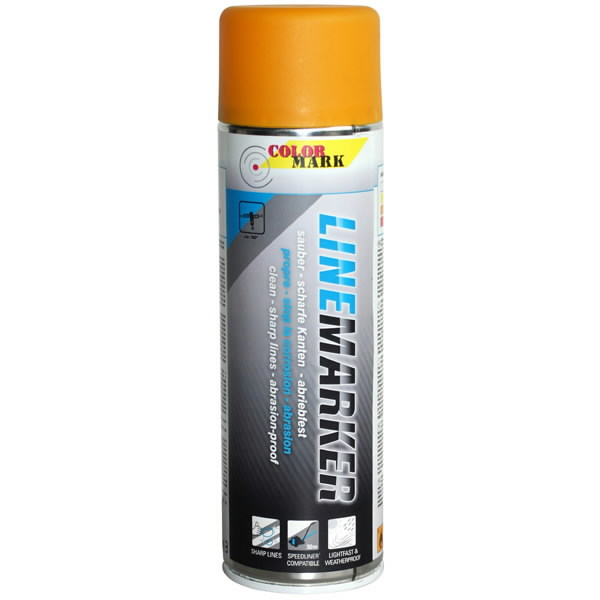 LINEMARKER black 500 ml spray, MoTip