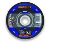 Pjovimo diskas metalui FT67 125x3, Rhodius