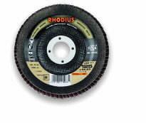 Vėduoklinis diskas LSZ F1 115x22 K80, Rhodius