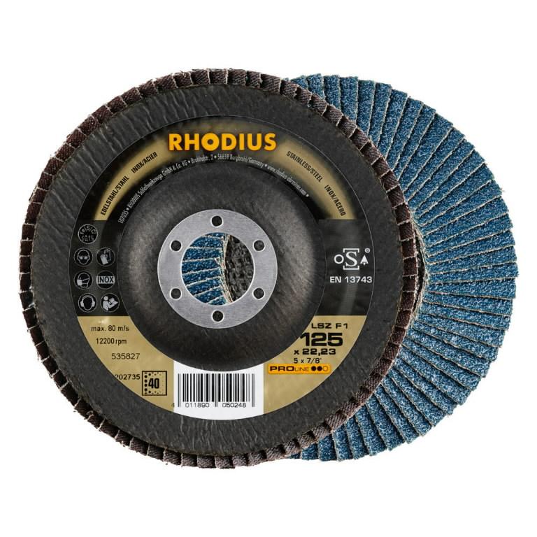 Vėduoklinis diskas LSZ F1 125x22 G80, Rhodius