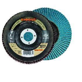 Vėduoklinis diskas LGZ F1 125x22 K60, Rhodius