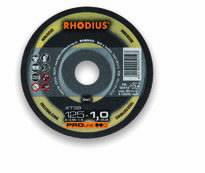Pjovimo diskas nerūdijančiam plienui XT38 115x1.5, Rhodius
