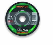 Pjovimo diskas akmeniui XT66 125x1.5, Rhodius