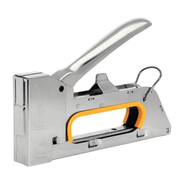 Kabių pistoletas R23 4-8mm geltonas Nr 13 kabės PRO, Rapid