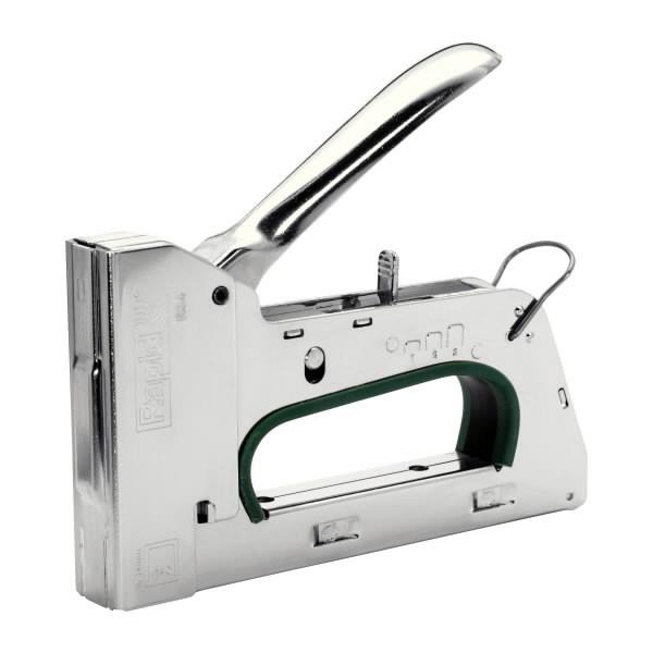 Kabių pistoletas R34E 6-14mm žalias Nr 140 kabės PRO, Rapid
