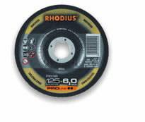 Šlifavimo diskas nerūdijančiam plienui RS38 150x6, Rhodius