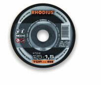 Pjovimo diskas aliuminiui  XT24 125x1.5, Rhodius