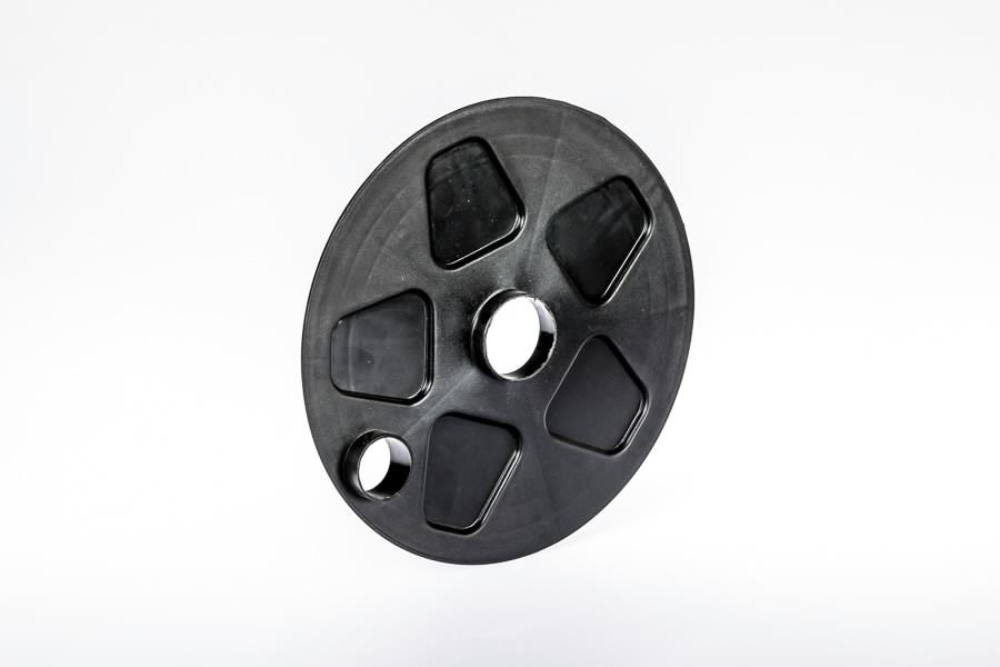 """Inside cover for 10"""" wheel hub, Gudnord"""