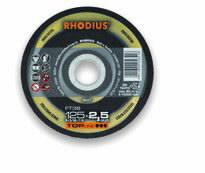 Pjov.disk.nerūd.plienui FT38 230x2.5, Rhodius