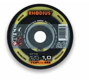 Pjovimo diskas XT10 Mini 50x2x6 INOX, Rhodius