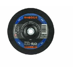 Šlifavimo diskas RS22 180x8x22.2 HF/pneumatikai, Rhodius