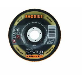 Šlifavimo diskas nerūdijančiam plienui RS28 125x7x22,23, Rhodius