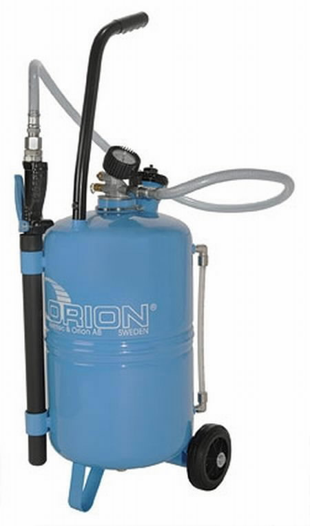 Transmisinio tepalo išpilstymo įrenginys, Orion