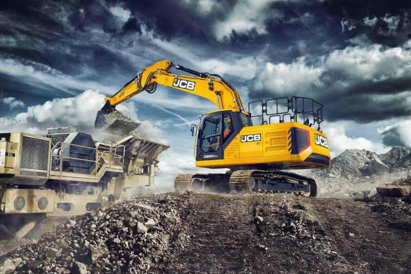 Tracked excavator  210X, JCB