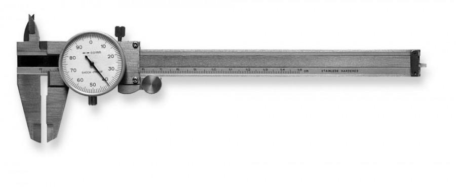 Slankmatis ciferblatinis 217 150/0,01/40mm, Scala
