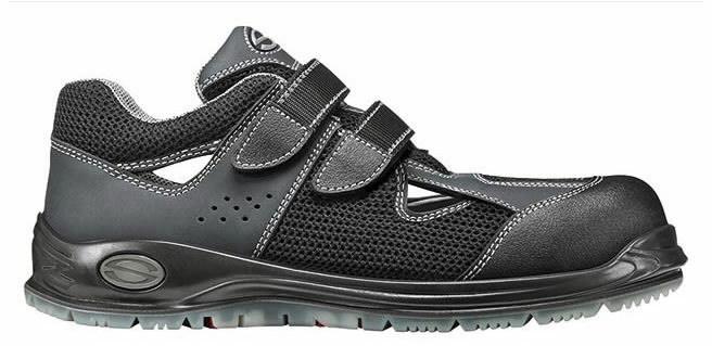 Apsauginiai sandalai Camaro Black NEW S1P SRC ESD, juoda 45, Sir Safety System