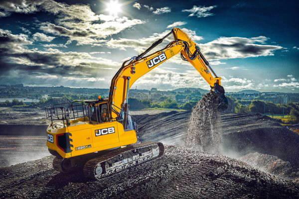 Ekskavatorius vikšrinis JCB 220X