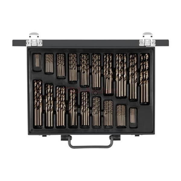 metal drillbit set HSS-R 170-pcs, Carolus