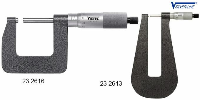 mikromeeter 0-25/150mm 0,01mm, Vögel