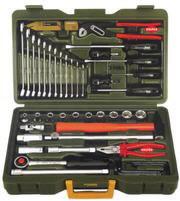 Įrankių kompl., auto-universalus, 43 vnt., Proxxon