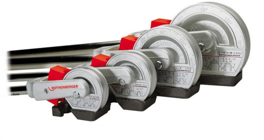 torupainutaja 180' 8mm ROBEND H+W PLUS, Rothenberger
